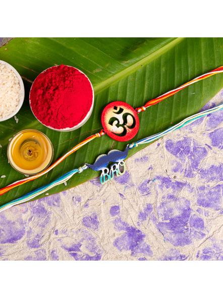 Handmade Designer Rakhi Set of 2-LAA-RKSO2-26