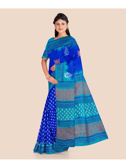 Printed Silk Saree-LAAPSS005