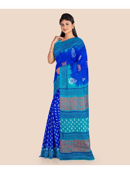 Printed Silk Saree-3