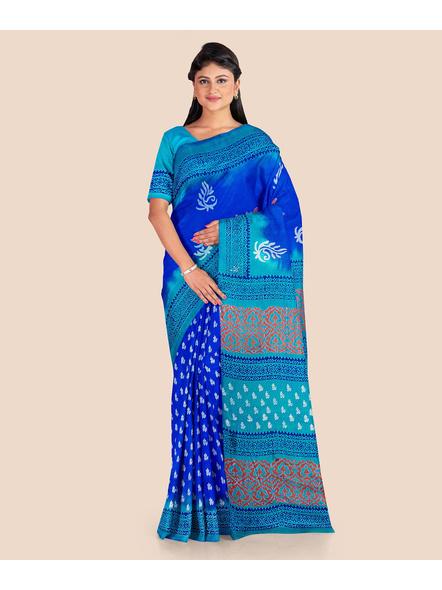 Printed Silk Saree-5