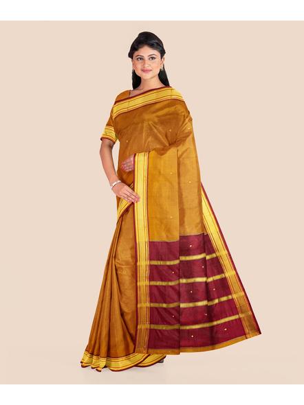 South Gadwal Silk Saree-LAASGSWBP001