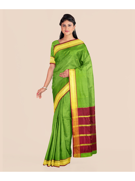 South Gadwal Silk Saree-3