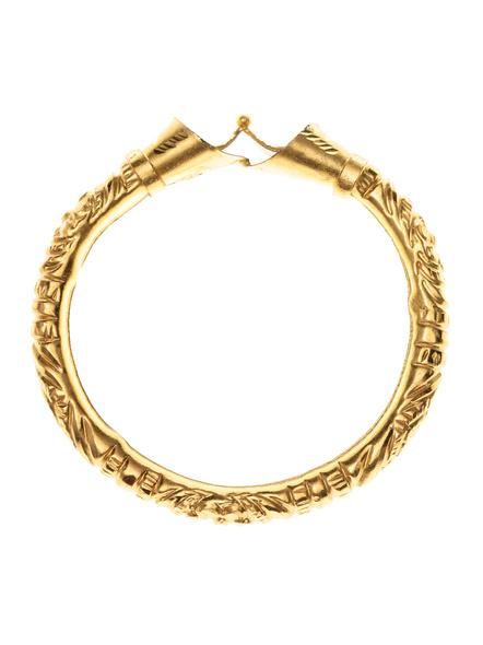 Traditional Ethnic Jewellery 1.5g Designer Drop Shaped Bangle for Women (1 Piece)-LAAGP15BG008