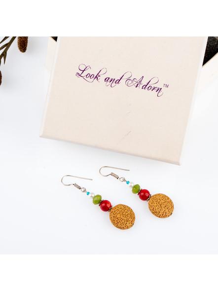 Handmade Semi Precious Sahara Dream Earring-LAAER234