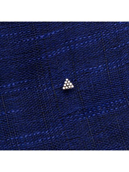 92.5 Pure Silver Triangular Wire Nosepin-1