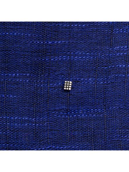 Designer 92.5 Pure Silver Rectangular Wired Nosepin-1