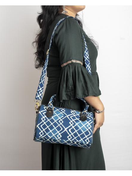 Handcrafted Indigo Sling /Duffle Bag-1