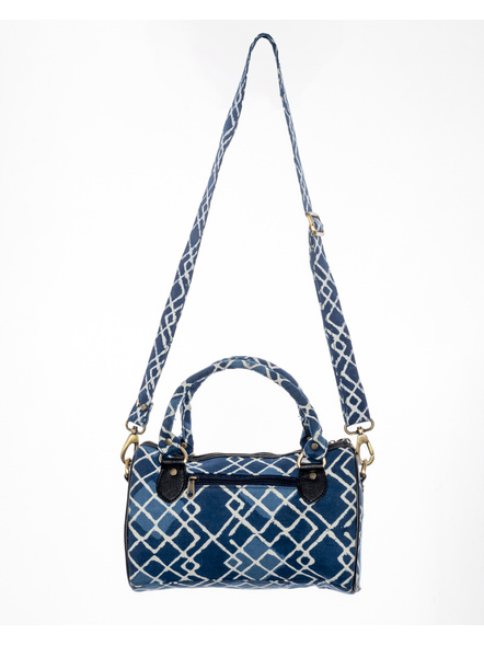 Handcrafted Indigo Sling /Duffle Bag-2
