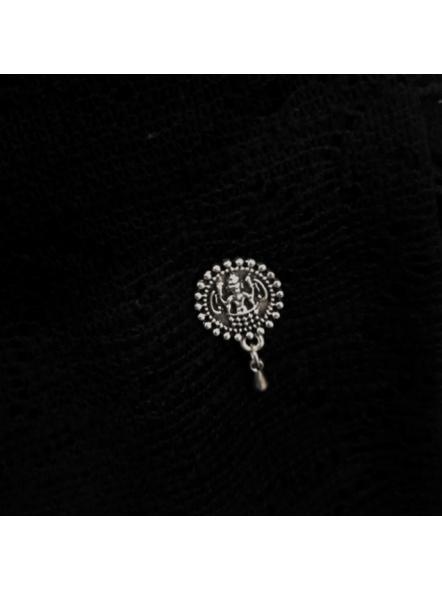 Designer Devi German Silver Clip-on Nosepin-LAAGSNP001
