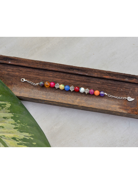Designer semi precious Onyx stone bracelet-LAAHB002