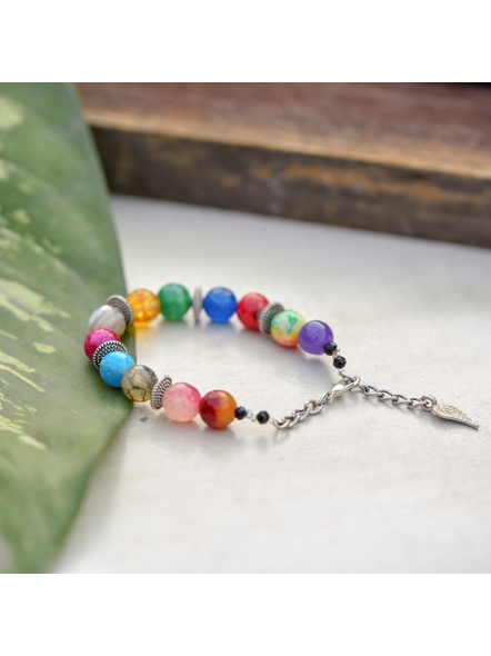 Bracelet with Mango charm and Adjustable Chain-1