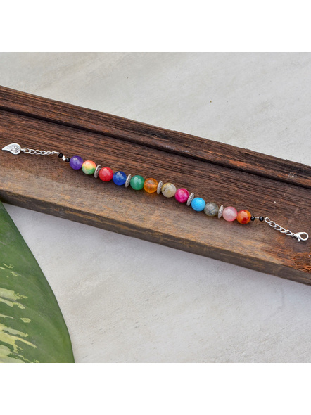 Bracelet with Mango charm and Adjustable Chain-LAAHB004