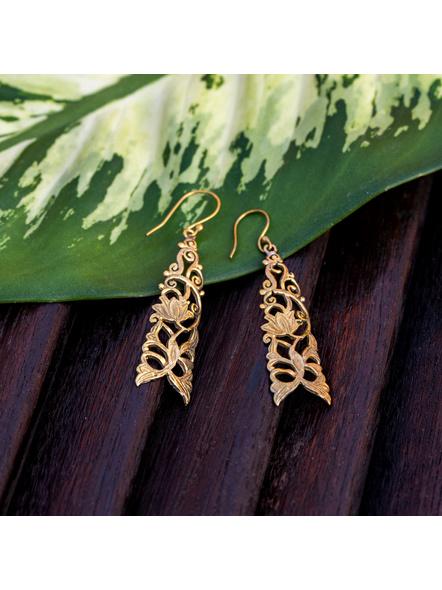 Designer Brass Earring-LAAER348
