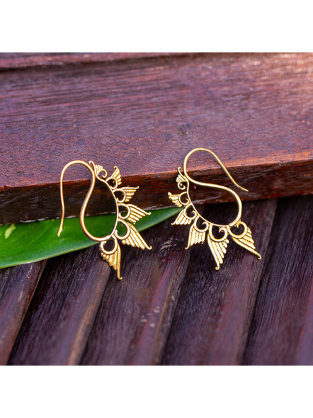 Look and Adorn Exclusive Brass Earring-LAAER359