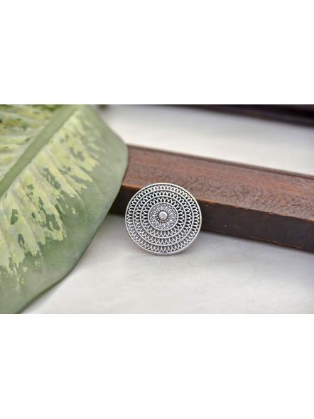 German Silver Round Finger Ring-2