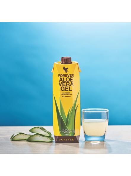Forever Aloe Vera Gel Tetrapak - 1L-ALOEVERAGEL1L