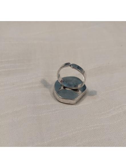 Semi Precious Rainbow Agate Finger Ring-2