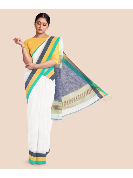 Pure Cotton Handloom Saree-LAACHS003