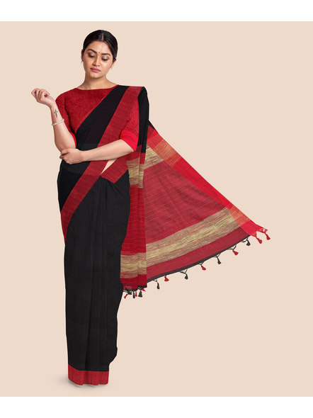 Pure Cotton Handloom Saree-LAACHS004