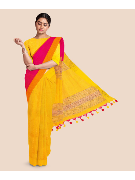 Pure Cotton Handloom Saree-LAACHS005