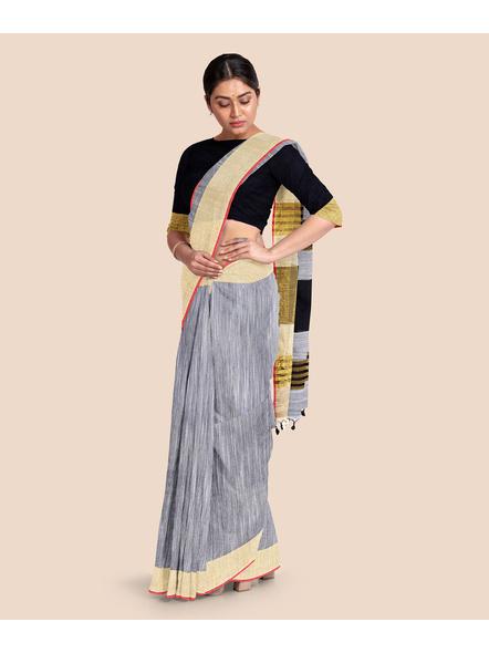 Pure Cotton Handloom Saree-3