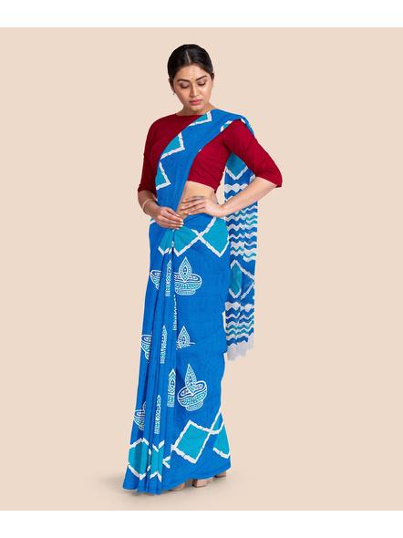 Printed Pure Cotton Saree-4