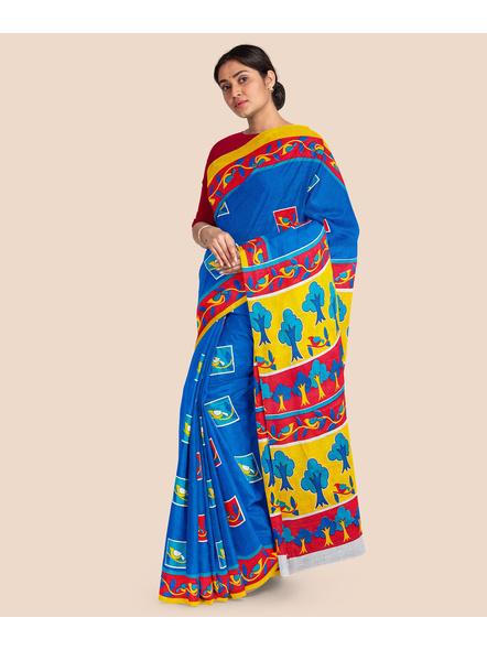 Printed Pure Cotton Saree-2