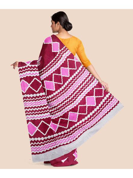 Printed Pure Cotton Saree-1