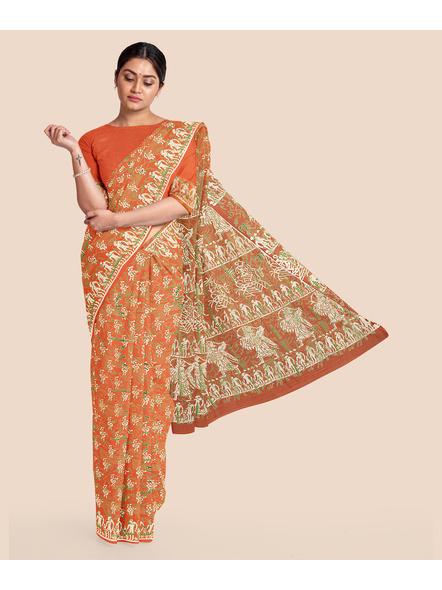 Malmal Pure Cotton Saree-LAAMMCWBP009