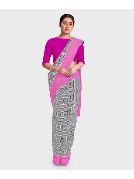 Printed Pure Cotton Saree-3