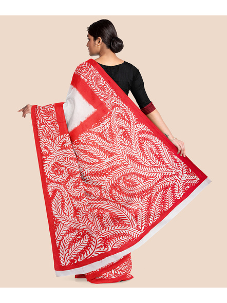 Printed Cotton Saree without Blouse Piece-1
