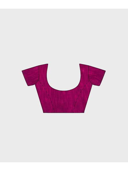 Khadi Cotton Ajrakh Saree-4