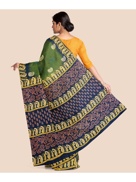 Printed Mulmul Pure Cotton Saree-1