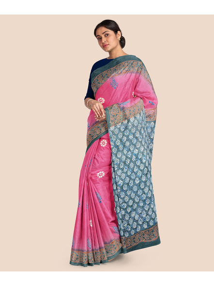 Printed Mulmul Pure Cotton Saree-2