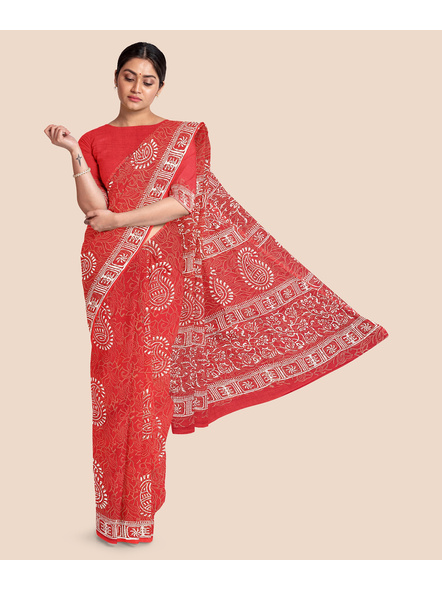 Malmal Pure Cotton Saree-LAAMMCWBP005