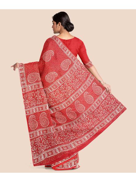 Malmal Pure Cotton Saree-1