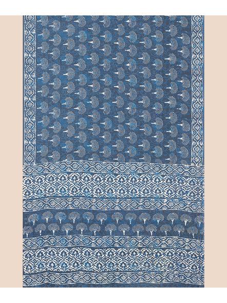 Mulmul Pure Cotton Saree-3