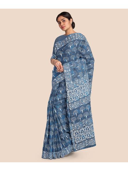Mulmul Pure Cotton Saree-4