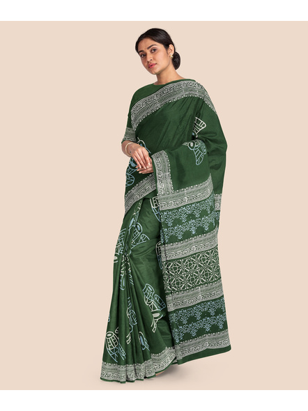 Malmal Pure Cotton Saree-3