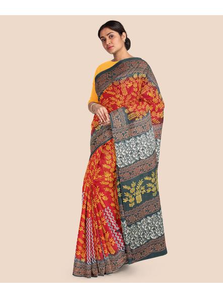 Malmal Pure Cotton Saree-2