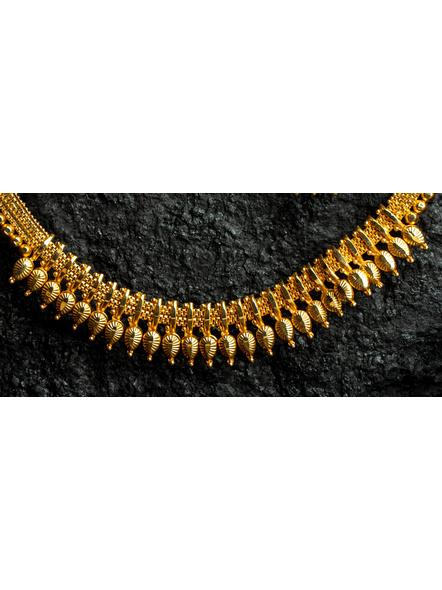 Designer Drop Choker Necklace set with Adjustable Seedbead hassle-1