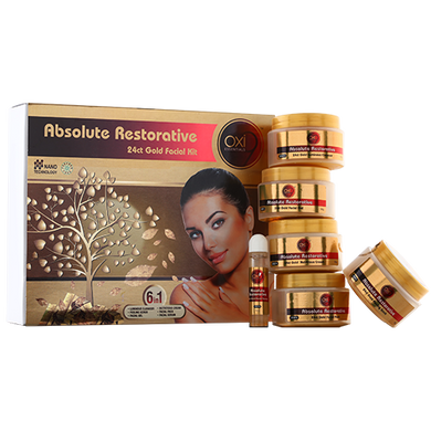 Absolute Restorative 24ct Gold Facial Kit-BS035