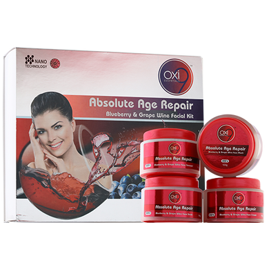 Absolute Age Repair Blueberry & Grape Wine Facial Kit-BS036