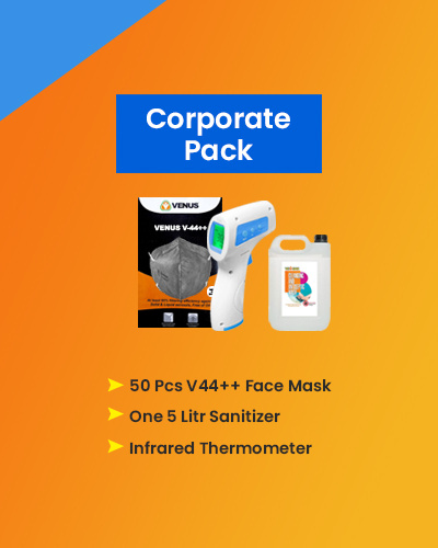 Covid Prevention Kit - Corporate Pack-MST50