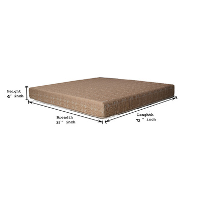 OMEGA BLOSSOM LATEX MATTRESSES BLOSSOM RANGE WITH 8 INCH HEIGHT-75*36*8-1