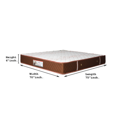 OMEGA POCKETED SPRING MATRESSES VISCO OMEGA RANGE WITH HEIGHT 10 INCH-72*60*10-1