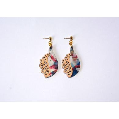 Peacock Prestige TRASHformation Earrings-1
