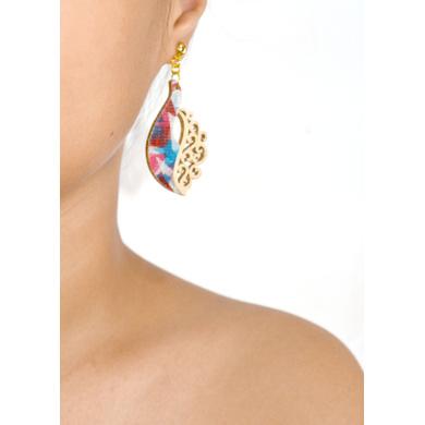 Peacock Prestige TRASHformation Earrings-CET0000003
