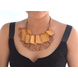 Coco and Jackfruit Wood Necklace-1-sm
