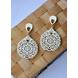 Corona Extravaganza Wood Earrings-CWE0000016-sm